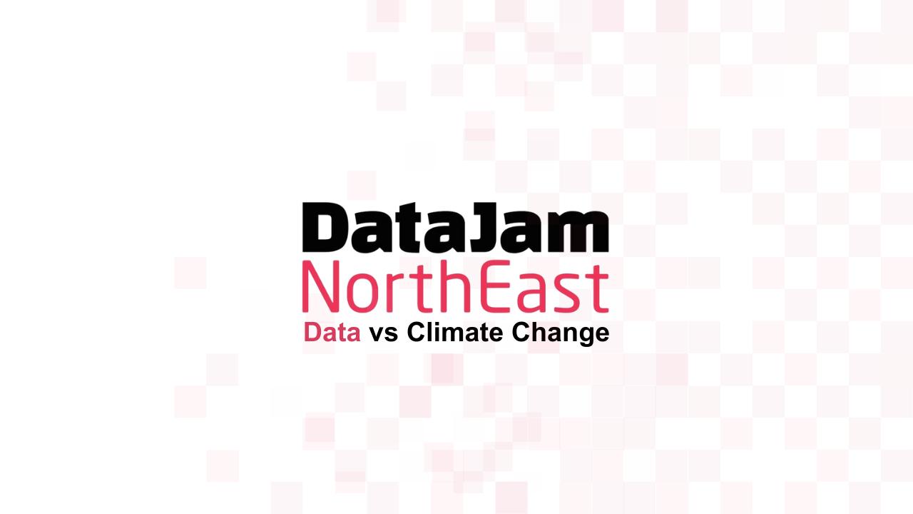 DataJam North East Data versus Climate Change